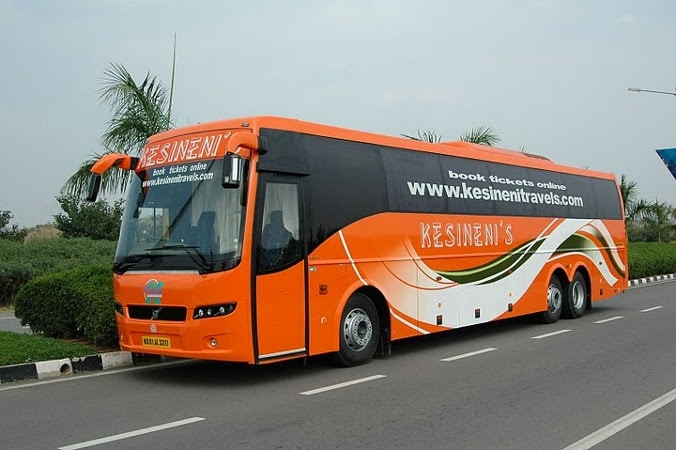 Kesineni Travels - Kesineni Travels Online Bus Booking - Get upto 20% Max Rs.150 Off & Flat 100% ...