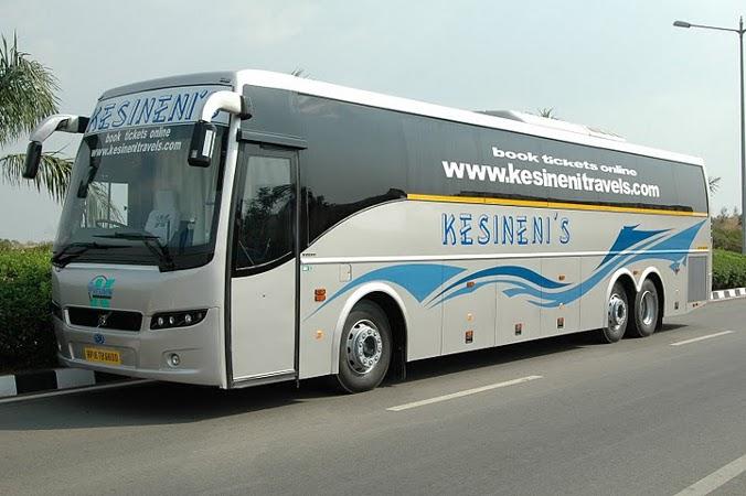 Kesineni Travels Online Ticket Booking