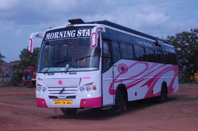 kesineni tours travels benz circle bus services in vijayawada