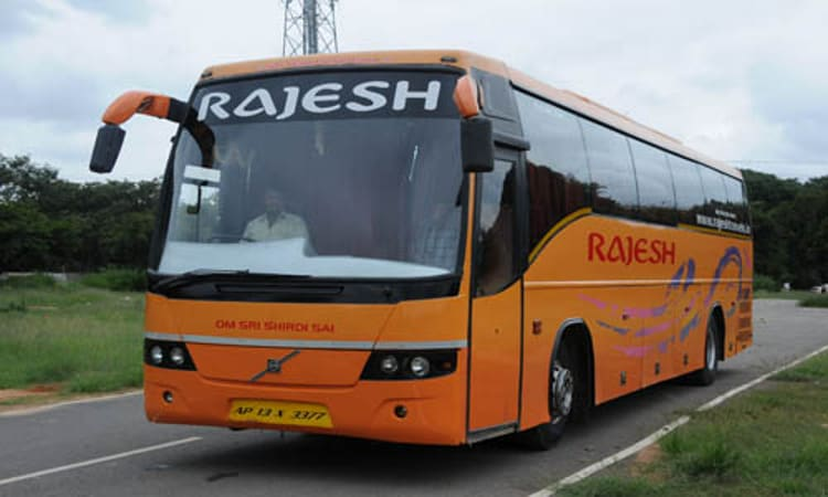 Rajesh Travels - Rajesh Travels Online Bus Booking - Get upto 20% Max Rs.125 Off & Flat 100% ...