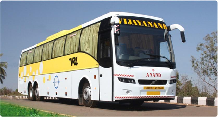 Vrl Travels Vrl Travels Online Bus Booking Get Flat 30