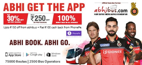 Get discounts Upto Rs 250 for new app downloads and new user booking.