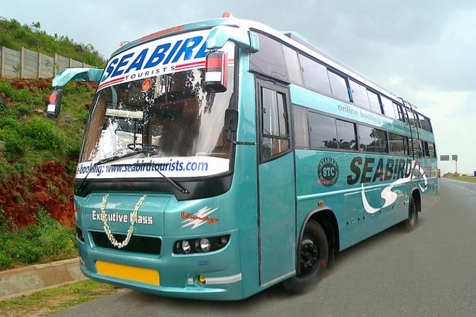 Seabird Travels Online Bus Booking - Upto Rs 100 Discount on