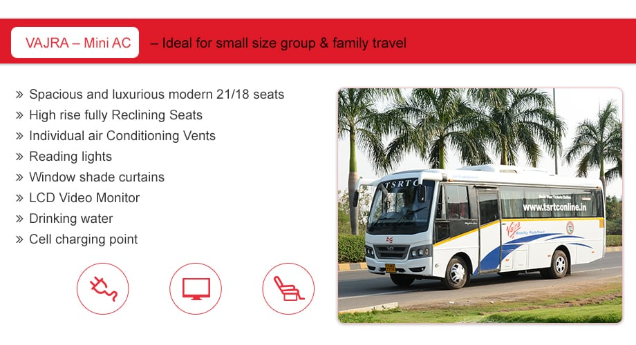 TSRTC Official Website for Online Bus Ticket Booking
