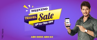 Weekend Travel Sale - Upto Rs.150 Discount on Bus Booking