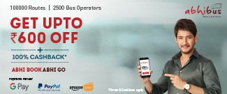 New Users - Get Upto Rs.600 Off on Bus Booking