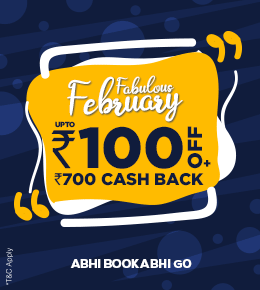 Fabulous February - Upto Rs.100 Off + Rs.700 Cash Back on Bus Booking using PayPal