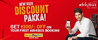 New User Discount Pakka - Flat 30% Upto Rs.300 Off on Bus Booking