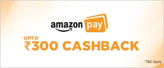 Upto Rs.300 Cash Back from Amazon Pay