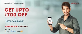 New Users - Get Upto Rs.700 Off on Bus Booking