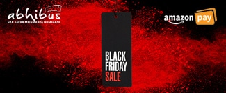 Black Friday Sale - Upto Rs.300 Off on all Bus Bookings using Amazon Pay