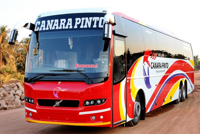Canara Pinto Travels Online Bus Booking Get Upto Rs 200