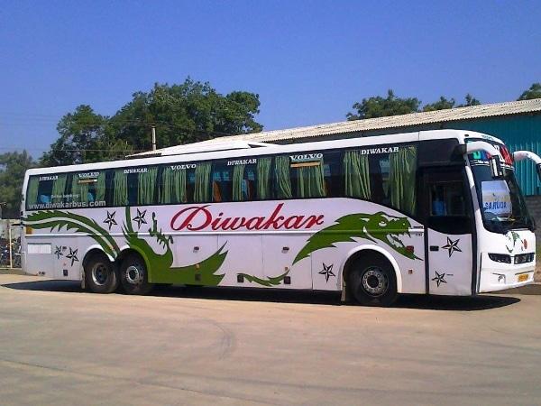 Diwakar Travels Online Bus Booking Get Upto Rs 450 Off