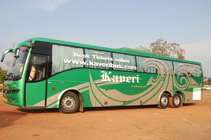 Kaveri Travels Online Bus Booking Get Upto Rs 500 Off On