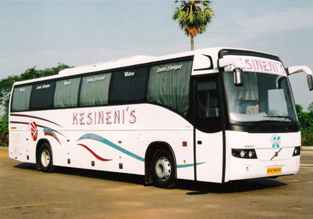 kesineni travels online bus booking get upto rs 125 cashback on