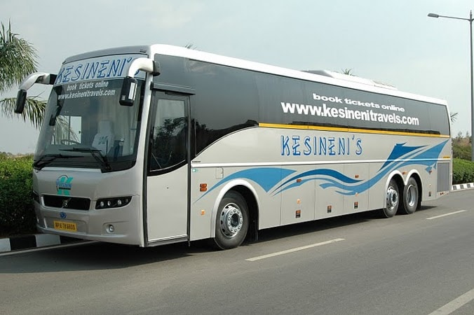 Kesineni Travels Online Bus Booking - Get Upto Rs.1000 Cash Back on Bus Booking at Abhibus
