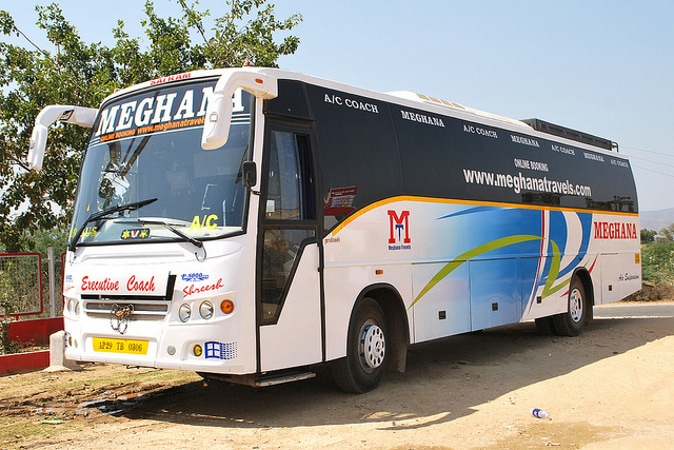 Meghana Travels Online Bus Booking Get Upto Rs 200 Off