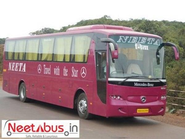 Neeta Travels - Neeta Travels Online Bus Booking - Upto Rs.100 Off + Rs.700 Cash Back on Bus ...