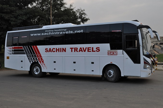 Sachin Travels Online Bus Booking - Get 50% Discount on Bus Booking at Abhibus