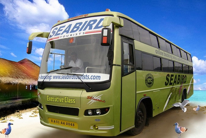 Seabird Travels Online Bus Booking - Upto Rs.100 Off + Rs.1000 Cash Back on Bus Booking at Abhibus