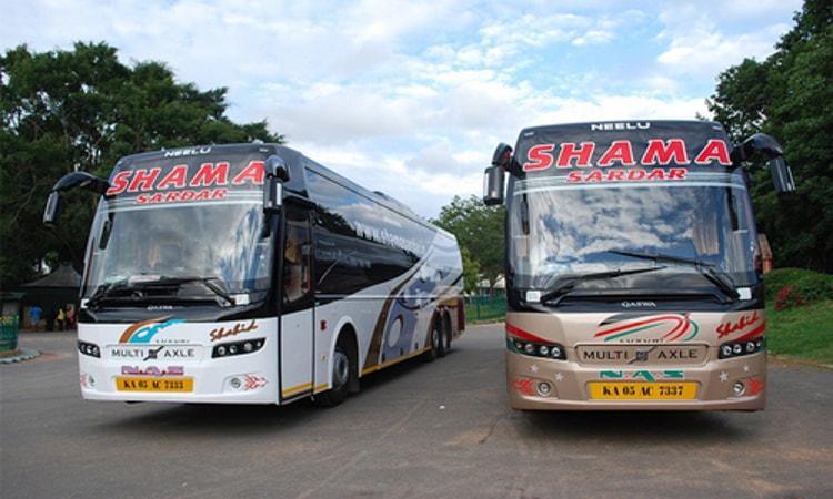 Shama Sardar Travels Online Bus Ticket Booking Upto Rs