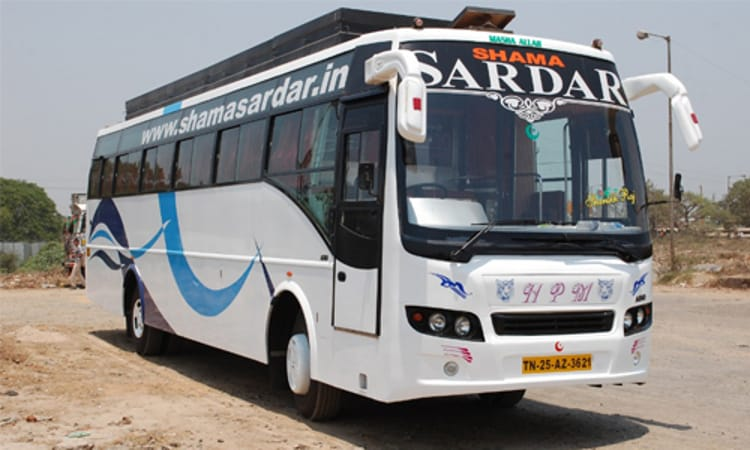 Shama Sardar Travels Online Bus Ticket Booking - Get Upto Rs.1000 Cash Back on Bus Booking at ...