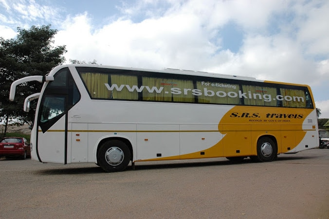 SRS Travels Online Bus Booking - Get 50% Discount on Bus ...