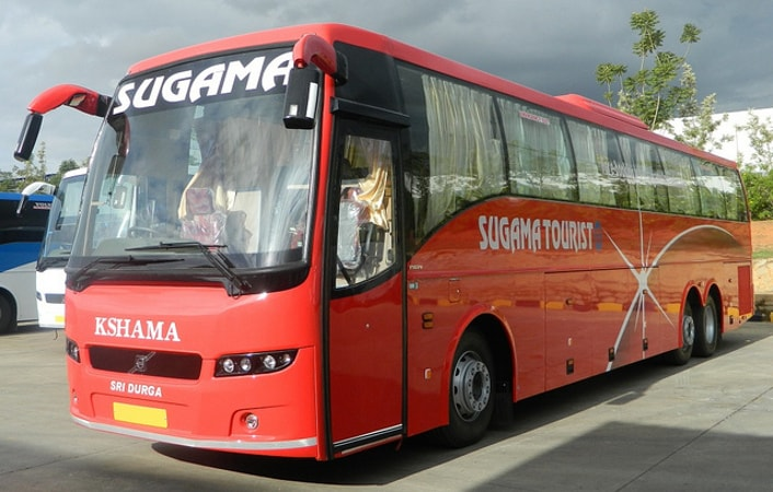 Sugama Travels Online Bus Booking - Get 50% Discount on Bus Booking at Abhibus