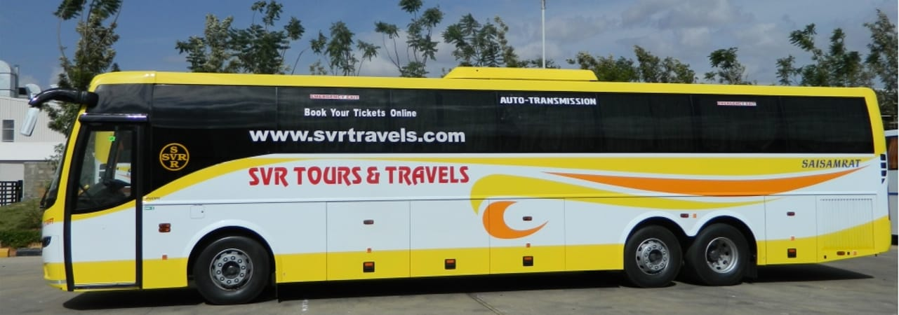SVR Travels Online Bus Booking - Get 50% Discount on Bus Booking at Abhibus