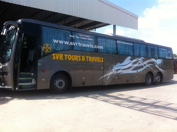 SVR Travels Online Bus Booking - Get Upto Rs.400 Off on Bus Booking at Abhibus