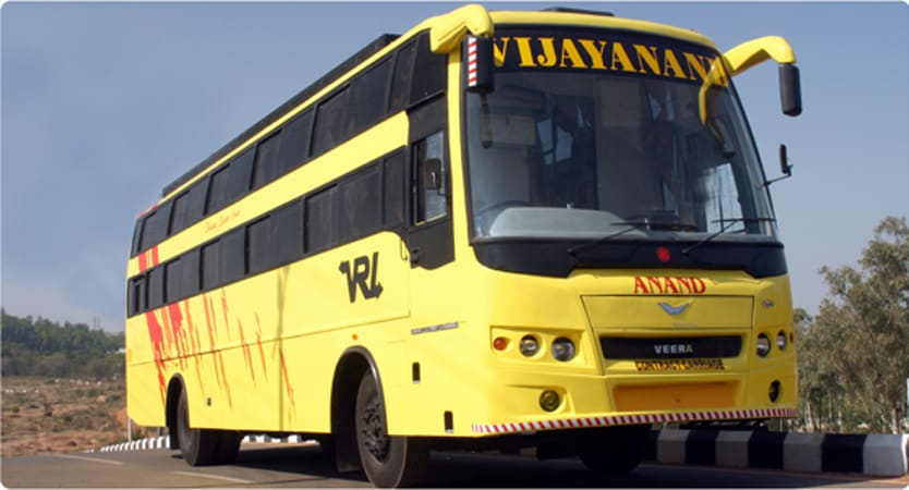 Vrl Travels Vrl Travels Online Bus Booking Get Upto Rs